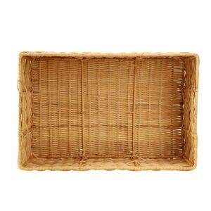 AK043A Handwoven rectangular basket