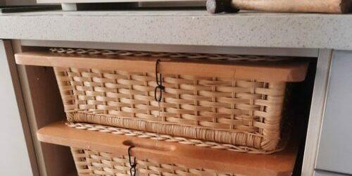 akway wicker basket